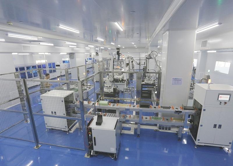 全自动电堆组装线-燃料电池测试设备