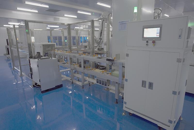 全自动电堆组装线-燃料电池电堆